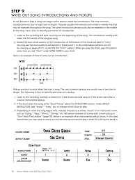 How To Write A Fast And Easy Drum Chart Pdf Cd Plus How To The Use The Drum Chart Builder Software Program