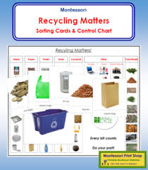 Recycling Matters Cards Charts