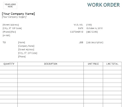 Change Order Form Template Excel Engineering Request T