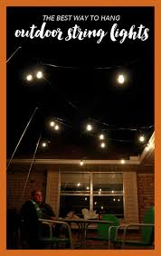 hanging patio lights. Stunning Outdoor Lighting How To Hang Patio Lights The Easy Way Picture Of Hanging Around Inspiration And Deck Posts Style T