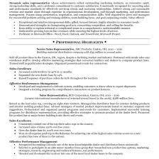 Sample Resume For Sales Representative Resume Template Resume Sample Sales Representative Free Career 17