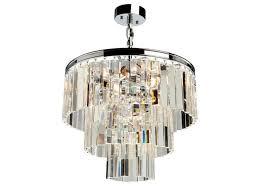 artcraft el dorado 6 light chandelier chrome ac10409ch