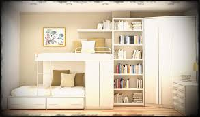 bedroom furniture for teenage girl. Charming Bespoke Ivory Color Teenage Girls Modern Bunk Bed Storage Bookshelves Corner Wardrobe As Custom Built Bedroom Furniture For Girl H