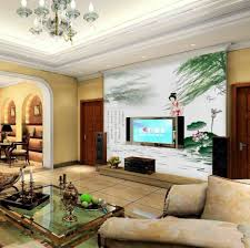 Wall Mural For Living Room Decoration Ideas Magnificent Home Interior Decoration With Wall