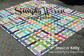 Jelly Roll Quilt Patterns Free Moda Enchanting Simply Woven Quilt Moda Bake Shop