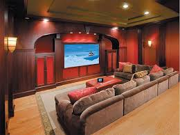 endearing home theater design and installation with additional