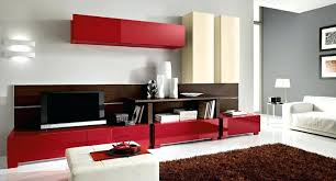 modern living room colour schemes for 2018 design my color scheme inspiring the ideas gorgeous red cabinets and wooden shelv