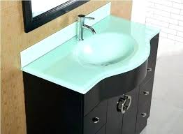 bathroom vanity with top home improvement ideas tempered glass small vanities tops enchanting