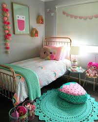 bedroom interesting pink teenage rooms pink bedroom decorating ideas with bed and round rug and
