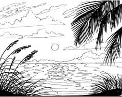 Small Picture Palm tree coloring page beach art digital download adult