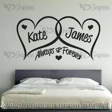 personalised always forever love hearts wall art on wall art love heart with personalised always forever love hearts wall art bgraphics