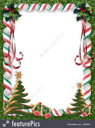 christmas candy border. Plain Candy Christmas Candy And Tree Border RoyaltyFree Stock Illustration In R