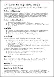 Drive Test Engineer Sample Resume Magnificent Qa Tester Resume Sample For Engineer Or Software Testing Samples 40