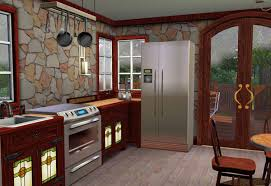 compatible furniture. sims 3 craftsman style cottage kitchen compatible with mission furniture base