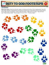 Wolf Advancement Chart Wolf Loops I Love Cub Scouts