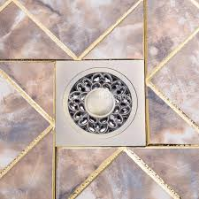Kitchen Floor Drains Basin Sink Kitchen Floor Drain Bathroom Rose Antique Brass Floor
