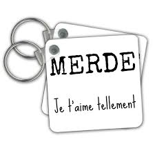 Amazoncom Xander French Quotes Merde Je Taime Tellement Shit