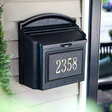 residential mailboxes wall mount. Simple Residential Locking Mailbox Home Depot Stainless Steel Wall Mount  Throughout Residential Mailboxes Wall Mount O