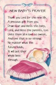 Baby Blessings Poems