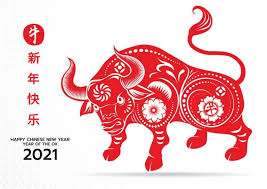 What is the 2021 chinese zodiac? Chinese New Year 2021 Wallpaper Happy Year Of Ox 2021 Cow Bull Chinese New Year Greeting Chinese New Year Card Happy Chinese New Year