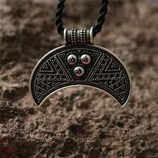 10pcs slavic lunula ancient norse amulet fertility moon crescent pagan viking jewelry the tricorn lunula