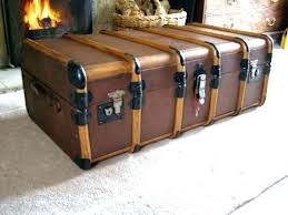 old trunk coffee table antique trunk coffee tables steamer trunk furniture antique trunk coffee table collection