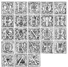 Lettrine Colorier Moyen Age Resultats Daol Image Search Coloriage