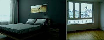 Schlafzimmer Braun Blau Beige Exquisit Interior 0