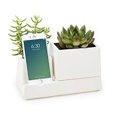 office warming gift. Smartphone Valet \u0026 Planter Office Warming Gift