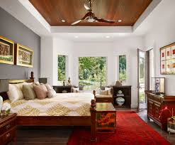 View in gallery Contemporary living room with Asian motif