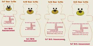 birth announcement templates birth announcement templates a stitch in time embroidery designs