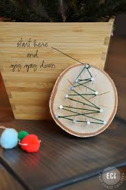 Rustic Christmas Ornaments Handmade Christmas Ornaments String Art Ornaments