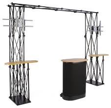 Portable Stands For Display Amazon Portable Trade Show Display 100 X 100 X 100Inch With 66