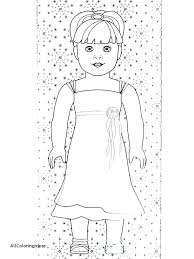 Coloring Pages Of American Girl Dolls Coloring Pages Girl Doll