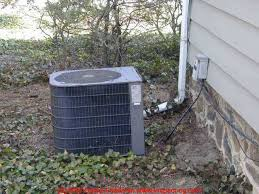 air conditioning outside unit. ac compressor (c) d friedman air conditioning outside unit n