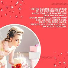 Geburtstagswunsche Zum 40 Schwester Design