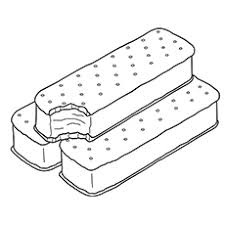 ice cream sandwich coloring pages. TheIceCreamSandwich Intended Ice Cream Sandwich Coloring Pages MomJunction