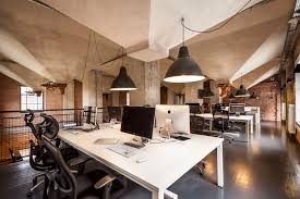 interior design in office. Modern Office Workspace Interior Design In