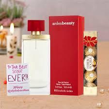 elizabeth arden beauty perfume rakhi return gift her for women