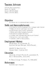 Resume Template For Student Unique Sample Student Resume For College Application Student Resume