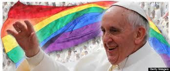 Risultati immagini per Bergoglio gay friendly