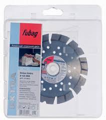 <b>Алмазный диск</b> по бетону <b>Fubag</b> (Фубаг) с режущей кромкой ...