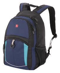 <b>Рюкзак 3191203408</b> (<b>синий/черный/бирюзовый</b>) от Wenger ...