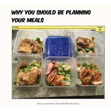 explaining why you should plan your meals and the second part showing you how to meal prep step by step very useful on the images to open them
