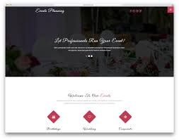 Free Event Planner Templates 22 Most Promising Free Event Website Templates 2019 Colorlib