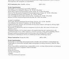 Construction Superintendent Resume Templates Construction Superintendent Resume Sample Commercial Cover Suez
