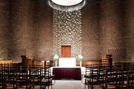 Mit Chapel Designer Saarinen Crossword Eero Saarinens Mit Chapel And The First Couple To Wed There