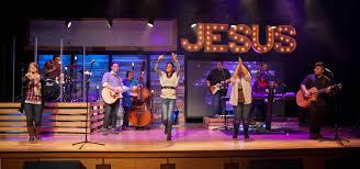 Church Stage Design Ideas what wood jesus do