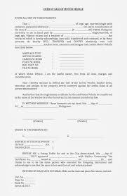 Deed Of Sale Motor Vehicle Format Filesishare Sale Deed For Car