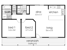 small floor plans. Small 2 Bedroom Cottage Design Floor Plans